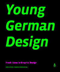 "Cover ""Young German Design – Fresh Ideas in Graphic Design"""